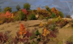 Digital painting by Vladimir Budinsky Landscape, Digital, Painting, Art, Art Background, Scenery, Painting Art, Kunst, Paintings