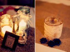 Rustic Wedding Centerpieces - Rustic Wedding Chic