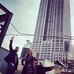 Taking in the rooftop views #TBGculture #EmpireState