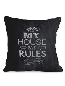 ALMOFADA - MY HOUSE, MY RULES