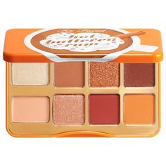 Shop Too Faced's Hot Buttered Rum Palette at Sephora. This is a limited-edition eye shadow palette with eight exclusive matte and metallic shades. Auburn Brown, New Eyeshadow Palettes, Hot Buttered Rum, Beauty Games, Bite Beauty, Holiday Makeup, Cream Frosting, Volume Mascara, Whipped Cream