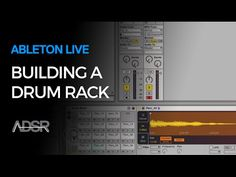 Ableton Live tutorials : http://www.adsrsounds.com/category/ableton-live-tutorials/ In this video, you'll learn how to build a custom drumrack in Ableton Liv...