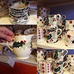 Full price Christmas Sale items in first shop at EB Factory! #emmabridgewater #ebsaleitems