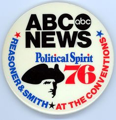 1976 ABC News Pinback