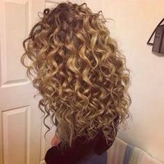 16 Best Perms For Long Hair Images Haircolor Haircuts Great Hair