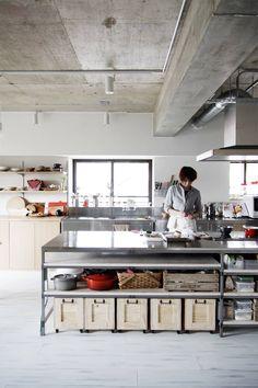 Restaurant Kitchen Design, Bakery Kitchen, Studio Kitchen, Apartment Kitchen, Kitchen Interior, Casa Magnolia, Commercial Kitchen Design, Casa Cook, Industrial Kitchen Design