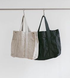 Fog Linen Themis Tote Bag | Various Colours