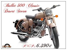 #RoyalEnfield 500 Classic Desert Storm #motorcycle