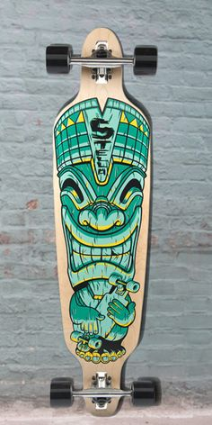 "Longboards USA - Drop Through Longboard Stella Tiki 40"" - Complete, $130.00 (http://longboardsusa.com/longboards/drop-through-longboard-stella-tiki-40-complete/)"