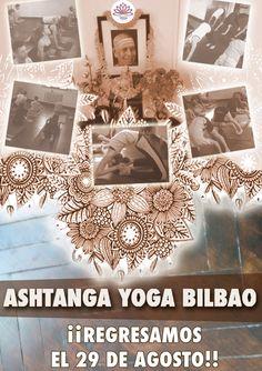 ¿Todavía no te has enterado de que Ashtanga Yoga Bilbao regresa el lunes 29 de agosto? Pues no te preocupes, porque somos incansables y te lo repetiremos una vez más: después de tres semanas de vacaciones, y justo después de la quema de Marijaia, volvemos con nuestras clases de Ashtanga Yoga de lunes a sábado mañana y tarde. #ashtangayogabilbao #ashtangayoga #yoga #bilbao #vueltaalcole #septiembre #oferta
