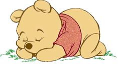 glitter graphics winnie the pooh and friends   Baby Winnie the Pooh sleeping