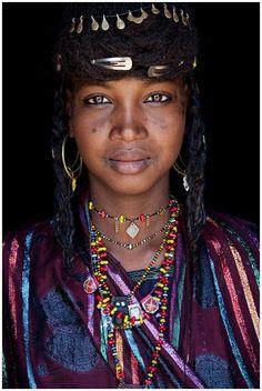 Africa | Wodaabe girl. Eastern Niger | ©John Kenny.