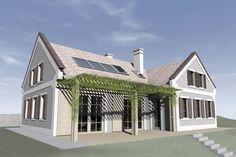 Milyen az energiatudatosan tervezett épület? Jó példa a Balaton-felvidéki nyaraló | Életszépítők Indoor, Mansions, Country, House Styles, Outdoor Decor, Tips, Home Decor, Interior, Mansion Houses