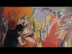 Painting and drawing XL - Acrylic abstract painting - Therese Lydia Joseph - how to video - YouTube