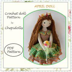 Hey, diesen tollen Etsy-Artikel fand ich bei https://www.etsy.com/de/listing/263343992/crochet-doll-pattern