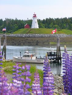 Lubec, Maine, the easternmost town in the United States. (photographer Bob Oliver)