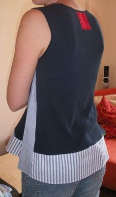 Couture suite - Acidulée - Best Sewing Tips Givenchy Couture, Elie Saab Couture, Dress Couture, Couture Sewing, Shirt Refashion, Diy Shirt, Umgestaltete Shirts, Kleidung Design, Shirt Makeover