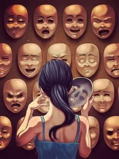 Image via We Heart It https://weheartit.com/entry/160949272/via/31380036 #angry #cry #fake #feel #feels #funny #girl #happy #hate #hollow #like #love #mask #myself #sad #shock #shy #true #tru #1pic100words #1pic100words