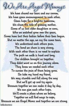 infant loss poems - Google Search