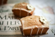 Earl Grey and lemon mini loaf cakes