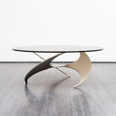Propeller coffee table by Knut Hesterberg for Ronald Schmitt, 1960s