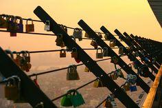 Seoul Tower Locks.