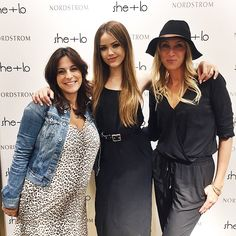 Wonderful time at today's Meet & Greet at @Nordstrom celebrating @sheandlo's new summer collection with these two beauties behind the brand. Thanks to all of the lovely folks that came out, so good seing you all ✌️#sheandlo #kaytour #meetandgreet