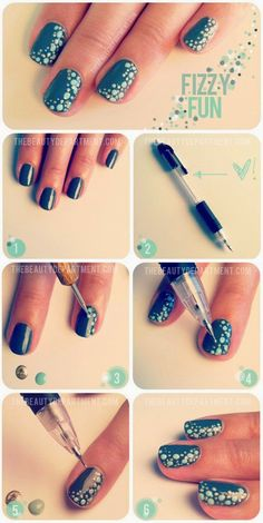 Idees gia ola: 25 GREAT DESIGNS NAIL TO THE MAKE YOUR SOLE tutorial - part 1