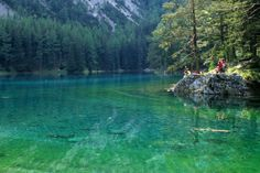 One of the most beautiful places in (green lake) Life Is Beautiful, Beautiful Places, Green Lake, Seen, Park, Wonders Of The World, Austria, Road Trip, Adventure