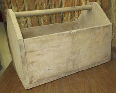 wooden tool box etsy. folk art primitive wooden tool box parts garden by theoldgrainery etsy 0
