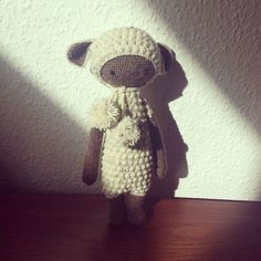 LUPO the lamb made by Trine N. / crochet pattern by lalylala