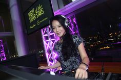 DJ Amanda Ling.