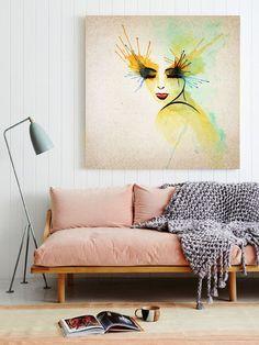 Hochwertig Wanddeko   Bild Auf Leinwand   Ein Designerstück Von Ortons Bei DaWanda