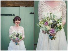 Lisa and Kevin's 'Rustic Vintage Ski' Themed Wedding With a Load of DIY Touches by Chris Milner