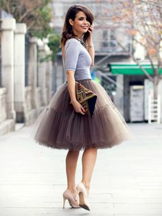 Must Have Outfits Tulle skirt.
