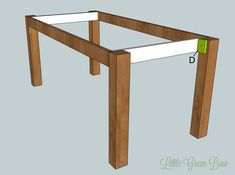 Make a Hyde Dining Table from scratch