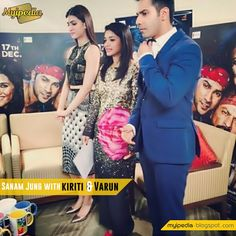 Sanam Jung's Morning Show with Dilwale Cast Kriti Sanon