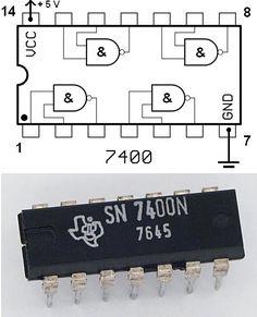 Tranzystor jest również używany przy bramkach logicznych.