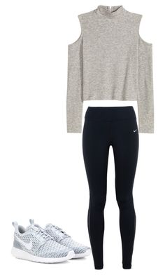 """""""Untitled #531"""" by kimjohansson ❤ liked on Polyvore featuring NIKE, women's clothing, women, female, woman, misses and juniors"""