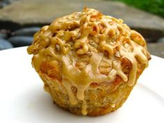 Java Monkey Muffins - A fabulous blend of banana, coconut, oats, ginger, vanilla, chocolate and espresso flavors.