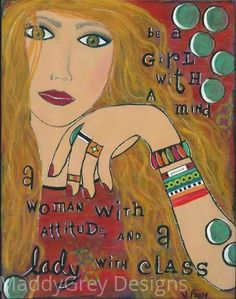 gypsy art, strong woman, she art, boho art, woman with attitude, women of strength, boho decor, inspirational art, quote art, gift for her - pinned by pin4etsy.com