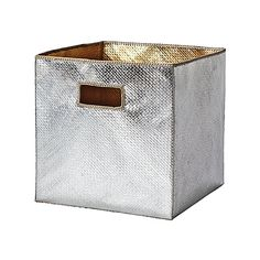 a couple of these stylish bins to hold toys and books in the living room. daily clean-up made chic!