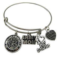 Military - Army Mom - Bracelet