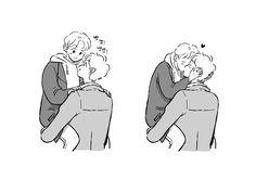 Chanbaek Fanart, Baekhyun Fanart, Exo Chanbaek, Kpop Fanart, Chanyeol, Drawing Reference Poses, Art Reference, Jikook, Gay Cuddles