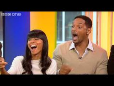Will Smith and family - The One Show  - BBC One Will Smith And Family, The One Show, Bbc One, News, Tv, Youtube, Television Set, Youtubers, Youtube Movies