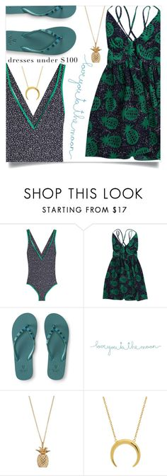 """Under $100: Summer Dresses"" by dolly-valkyrie ❤ liked on Polyvore featuring Diane Von Furstenberg, Aéropostale, Natural Life and under100"