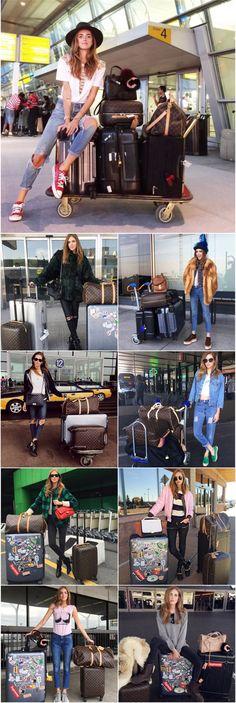 Look de aeroporto Chiara Ferragni