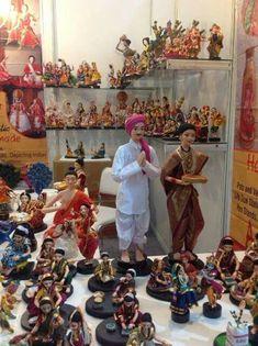 Gauri Decoration, Navratri Puja, Bridal Hair Ornaments, Janmashtami Decoration, Ganpati Decoration At Home, Trousseau Packing, Pooja Room Design, Homemade Dolls, Wedding Doll