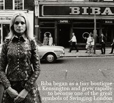 Biba Kensington Church Street. Memories of a teenage life!