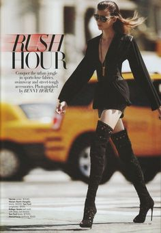 Bette Franke by Benny Horne for Harper's Bazaar Australia January/February 2012
